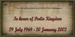 Kingdom Come Records - Perlia Kingdom sign