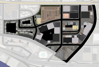 Nob Hill - Saints Row map