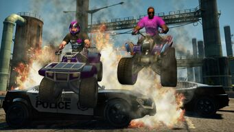 Toad in Saints Row The Third promo