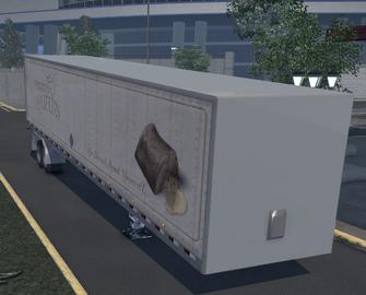 Box trailer - Liquers variant