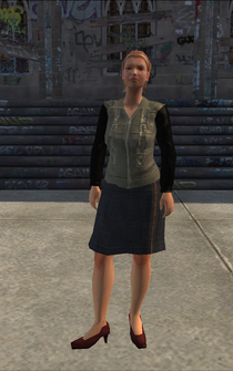 Generic young female 01 - white - character model in Saints Row