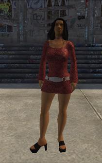 HO-01 - Hispanic Ho - character model in Saints Row