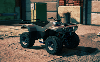 Toad - front right in Saints Row IV