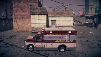 Ambulance - left in Saints Row IV
