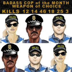 Badass cop of the month