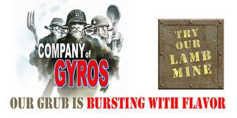 Company Of Gyros billboard