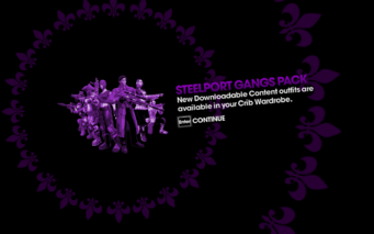 DLC unlock SRTT - Steelport Gangs Pack