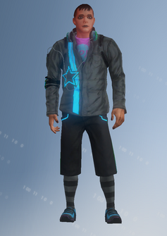 Deckers - Archie - character model in Saints Row IV