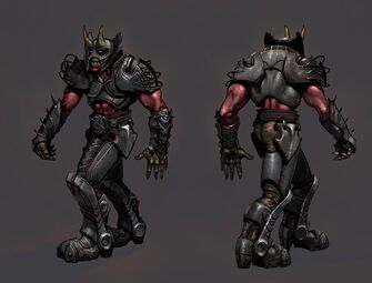 Demonic Grenadier Concept Art