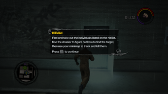 Hitman tutorial in Saints Row 2