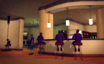 Hotel Penthouse - Ultra Modern - kitchen seating