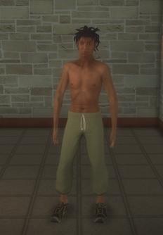 Junky - black male - character model in Saints Row 2
