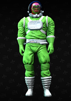 Luchador space 3 - Leroy - character model in Saints Row The Third