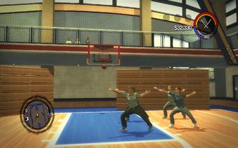 Marshall Winslow Recreation Center - basketball court tai chi