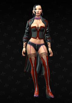 Morningstar Soldier 7 - Clara - character model in Saints Row The Third