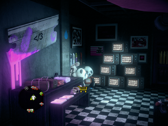 Nobody Loves Me interior in Saints Row IV