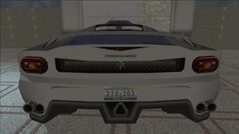 Saints Row variants - Fer de Lance - CarLX - rear