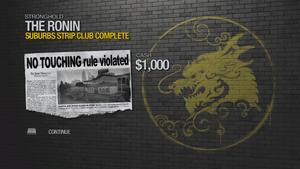 Suburbs Strip Club - complete 1000 cash