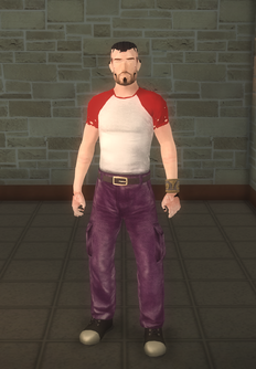 Broken NPC - saint male soldier - character model in Saints Row 2