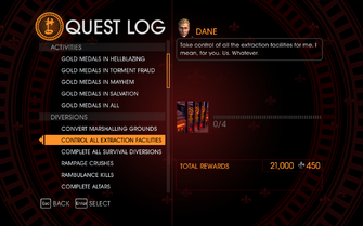 Gat out of Hell Challenge - Control All Extraction Facilities