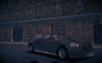 Hammer - front right at night in Saints Row IV