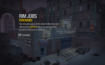 Rim Jobs in Little Shanghai purchased in Saints Row 2