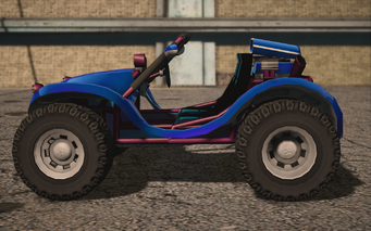 Saints Row IV variants - Mongoose Mascot - left