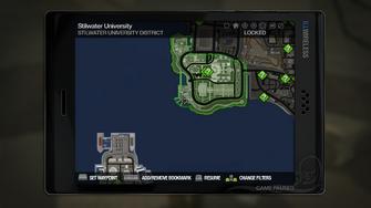 Secret Area - University Observatory on map