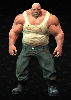 Brute unarmed - character model in Saints Row The Third