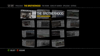Newspaper Clipboard - The Brotherhood