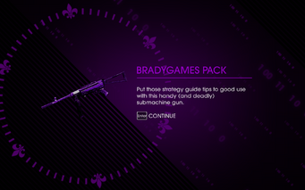 Saints Row IV DLC Unlock - Bradygames Pack