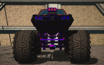Saints Row IV variants - Cyber Bootlegger XL Chopshop - front