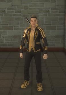 Shogo - no glasses - character model in Saints Row 2