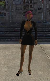 SkinnyHo - black ho - character model in Saints Row