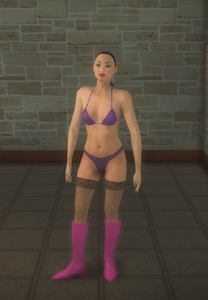 Stripper female - asian Casual CS - character model in Saints Row 2