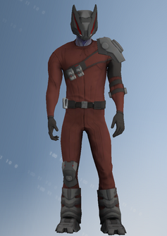 Zin - alien soldier c - character model in Saints Row IV