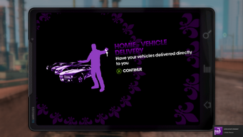Homie - Vehicle Delivery unlocked in Saints Row The Third