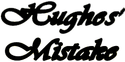 Hughes' Mistake decal