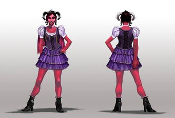 Jezebel Concept Art - final front and back