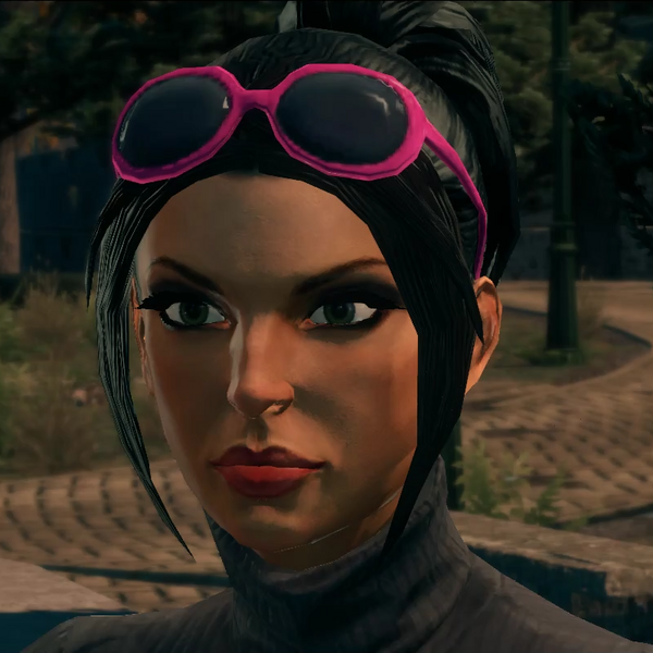 Kiki DeWynter - Pink glasses - modded cutscene