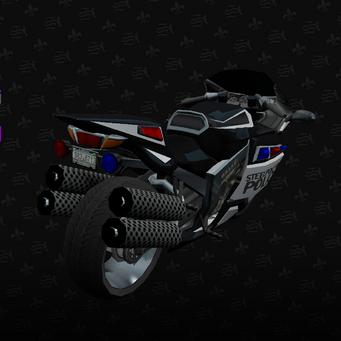 Police Kenshin - rear right in Saints Row The Third