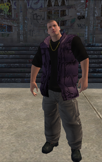 Saints male KillaB - white - character model in Saints Row