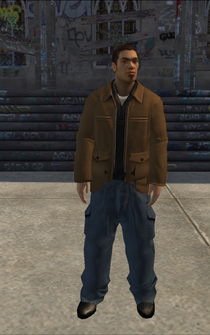 Theft - Javier - character model in Saints Row