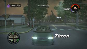 Zircon - front in Saints Row 2