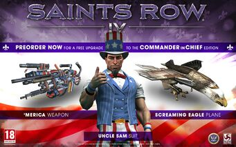 Commander-in-Chief Pack - Saints Row IV promotional image