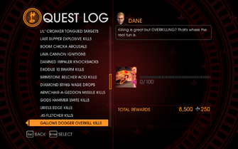 Gat out of Hell Challenge - Gallows Dodger Overkill Kills