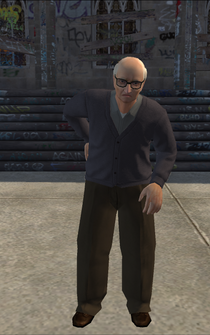 OldMan - white - character model in Saints Row