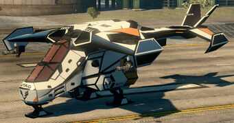 Condor - parked - front left in Saints Row The Third