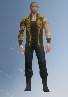 Jyunichi - character model in Saints Row IV