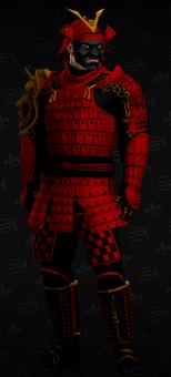 SRTT Outfit - Samurai (male)